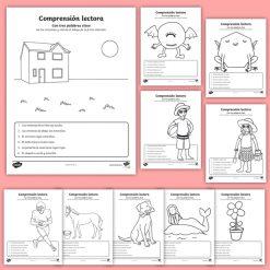 material de comprensión lectora para niños