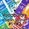 Paquete Tarjetas de Vocabulario de Verbos