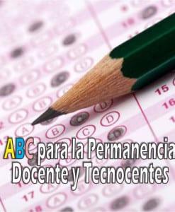 abc de Premanencia docente