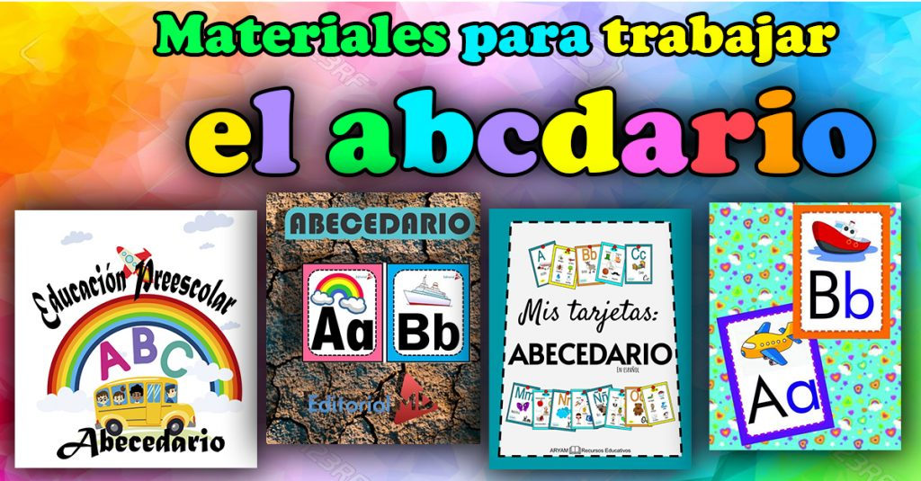abecedario material de apoyo para niños