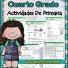 actividades de Cuarto grado de primaria