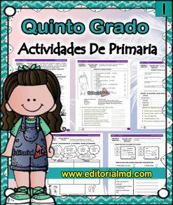 actividades de Quinto grado de primaria