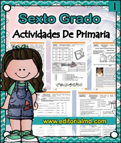 actividades de Sexto grado de primaria