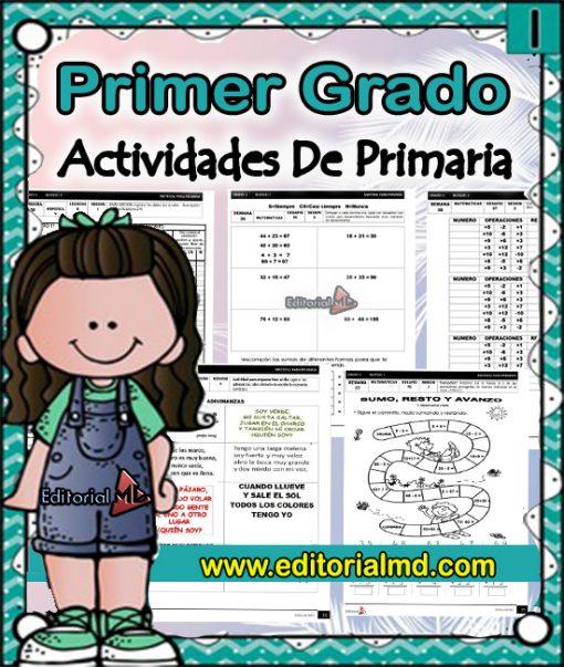 actividades de primer grado de primaria