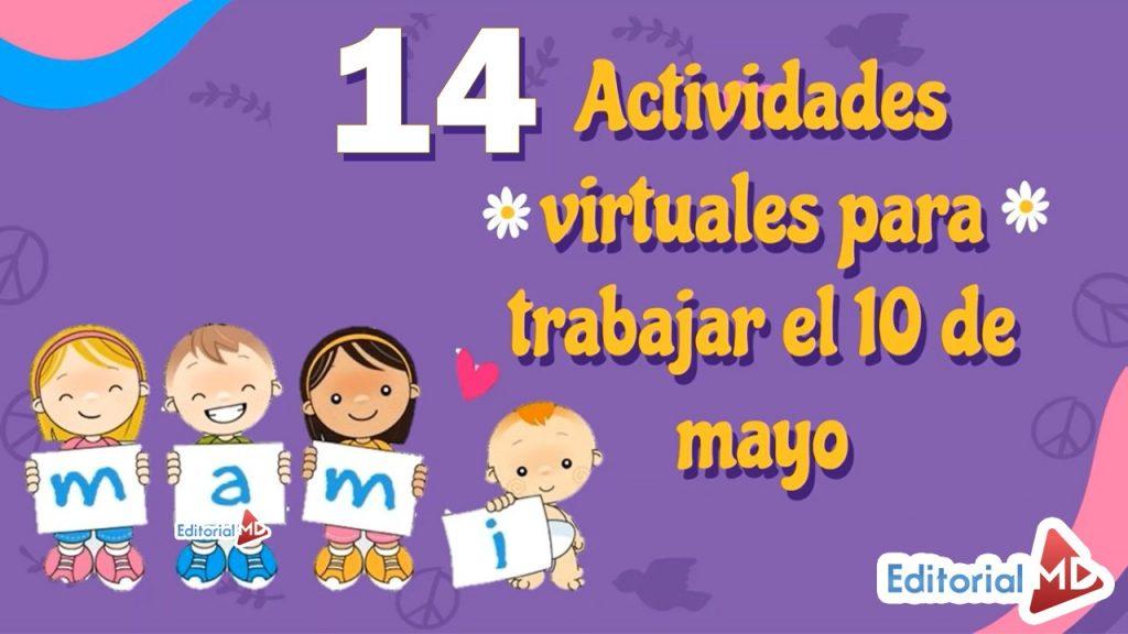 actividades virtuales para el dia de las madres