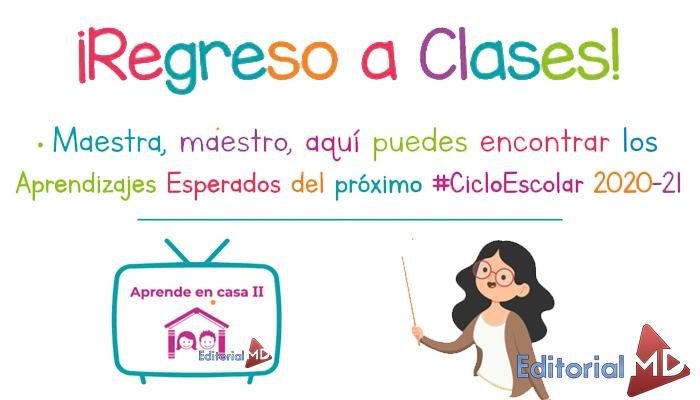 aprende en casa 2 aprendizajes esperados