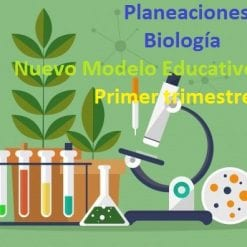 Planeaciones de Biologia