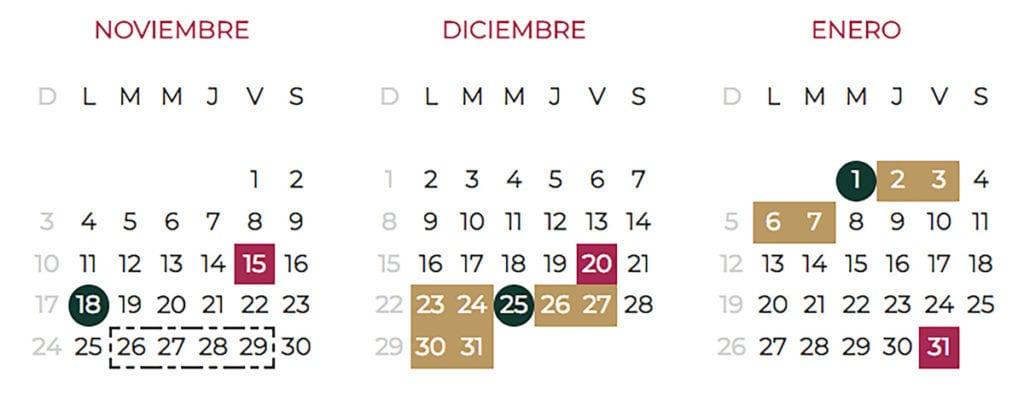 Calendario Escolar 2020 Sep Mexico.Calendario Escolar Ciclo 2019 2020 Sep Descargalo En Pdf