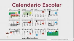 calendario escolar de la sep 2020-2021