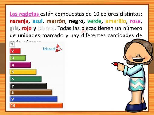colores de Las Regletas