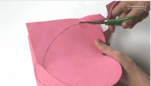como hacer una caja de cartón paso 2