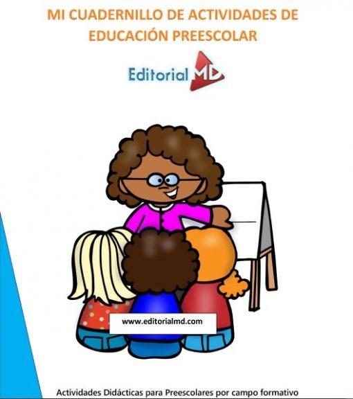 cuadernillos de actividades de educacion preescolar