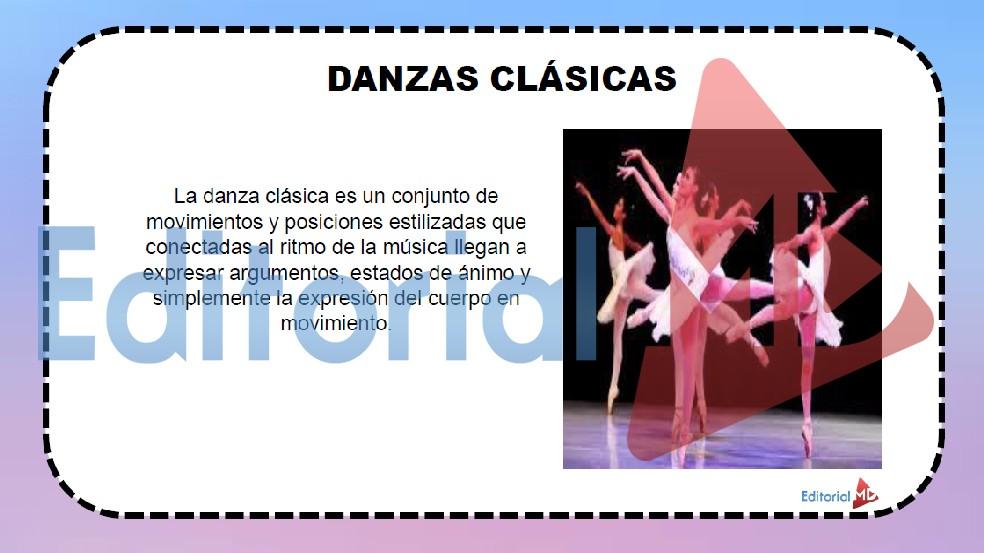 danzas clasicas - genero