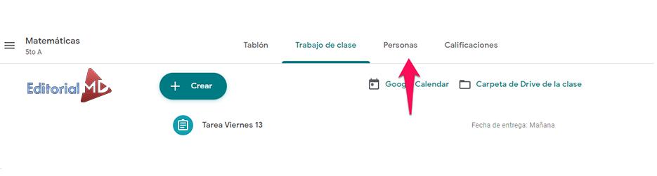 como darle acceso a los alumnos en Google Drive