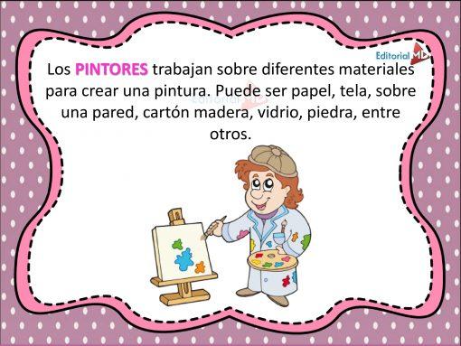 definicion de Pintores consagrados