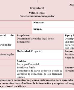 planeacion anual español