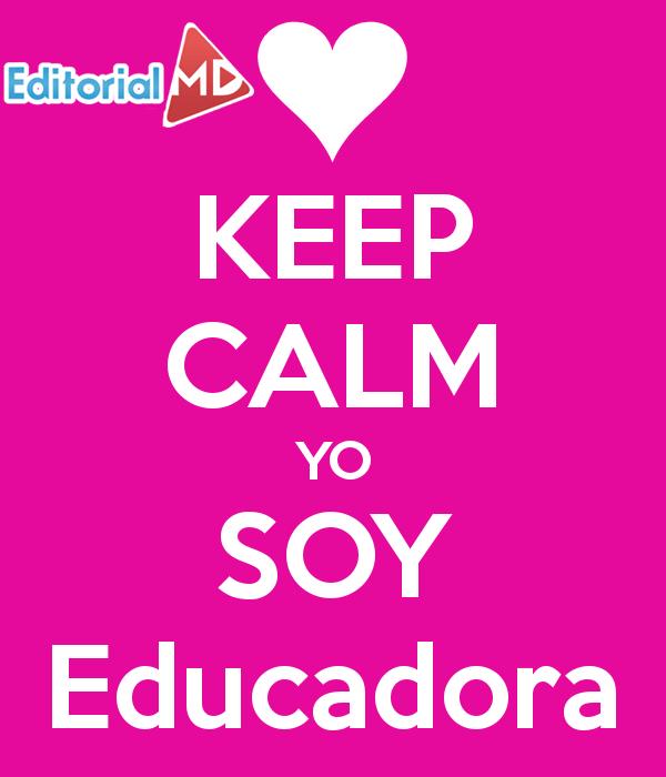 keep calm sor educadora preescolar
