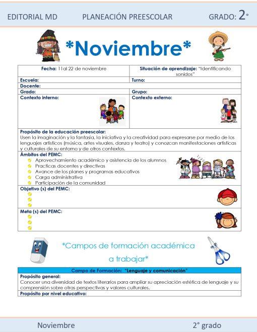 ejemplo de la planeación de noviembre 01
