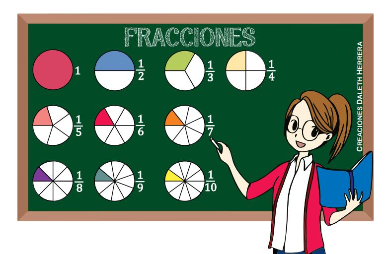 ejemplo de actividades de fracciones