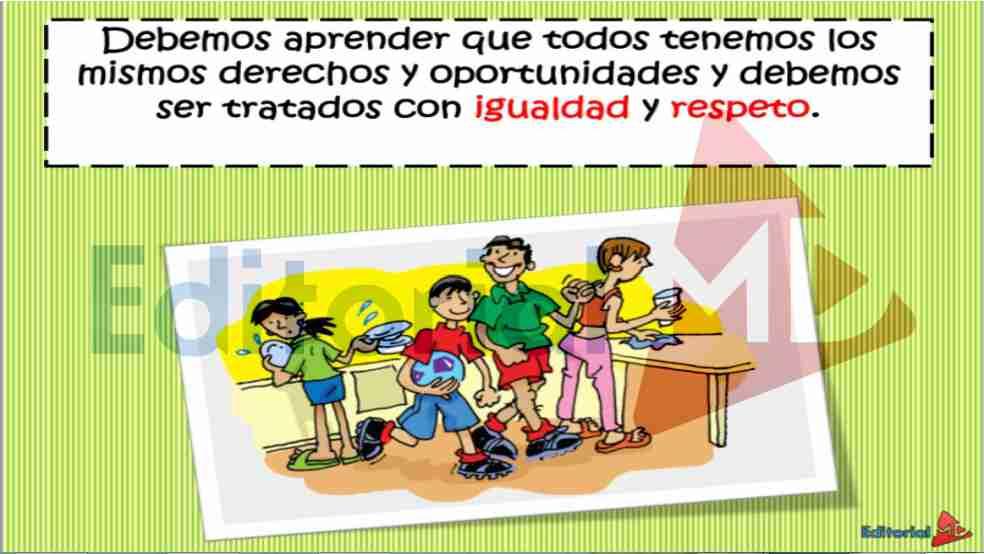 el respeto como valor para niños