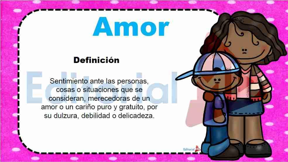 definicion estado de animo amor