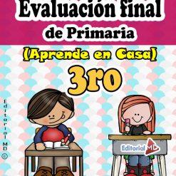 evaluación final de Tercer grado de primaria