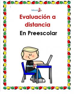 evaluacion a distancia en preescolar