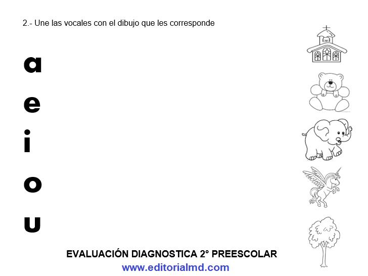 ejemplo evaluacion diagnostica segundo grado de preescolar