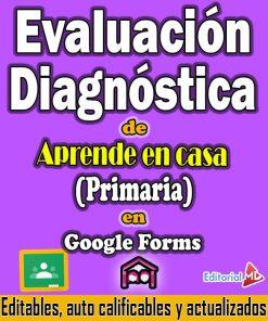 evaluacion diagnostica de aprende en casa