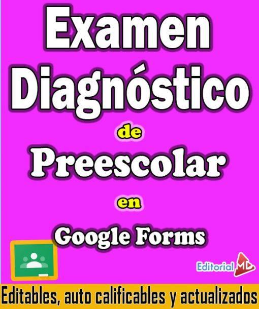 evaluacion diagnostica google forms preescolar 1