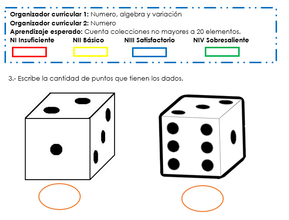evaluacion segundo momento pensamiento matemático