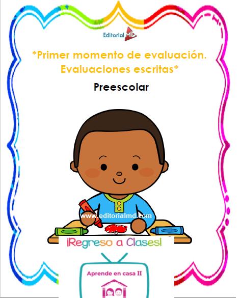 evaluaciones escritas preescolar