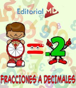 fraccion a decimal