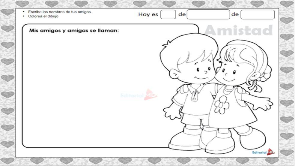 Amor Y Amistad Material Para Imprimir Imágenes Frases Tarjetas Y Actividades