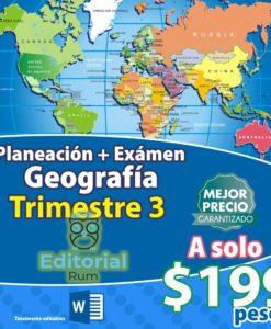 planeaciones de geografia secundaria