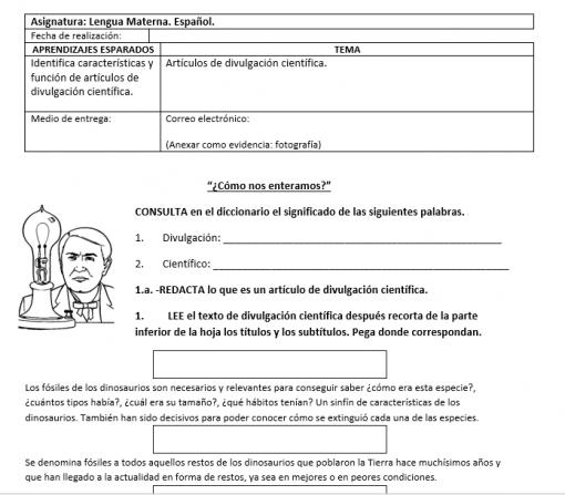 guia estudio en casa español tercer grado