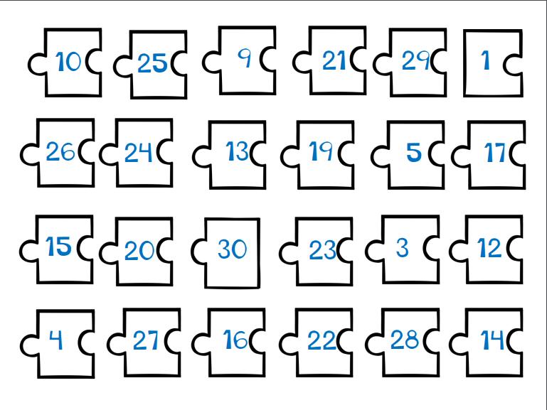 Ejemplo de números