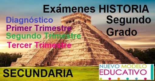 Exámenes Historia Segundo Grado Secundaria