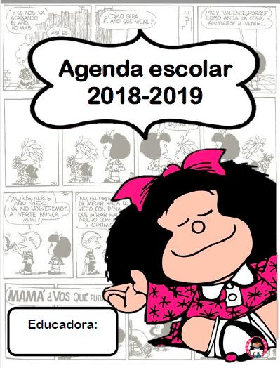 agenda escolar mafalda