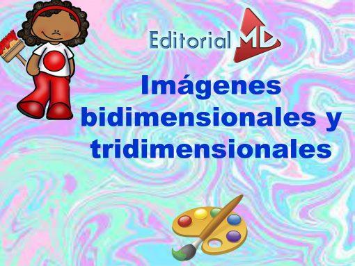imágenes bidimensionales y tridimensionales