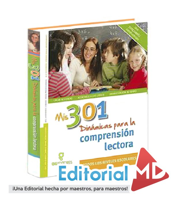 libro 301 dinamicas para la comprension lectora