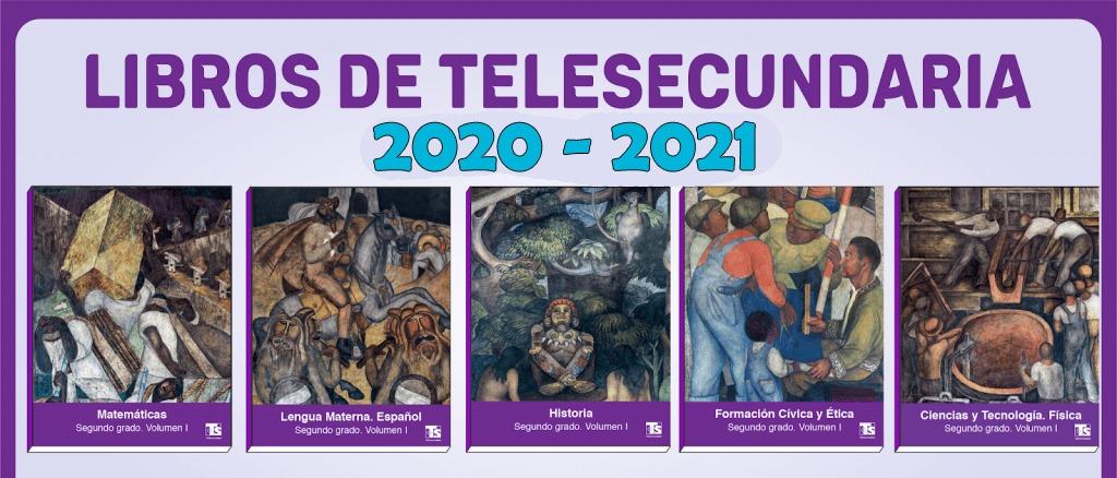 libros de telesecundaria 2020-2021