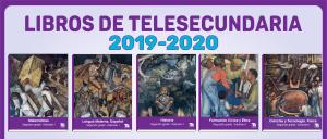 libros de telesecundaria 2019-2020