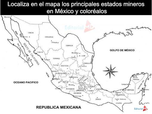mapa de La Minería Y Su Importancia