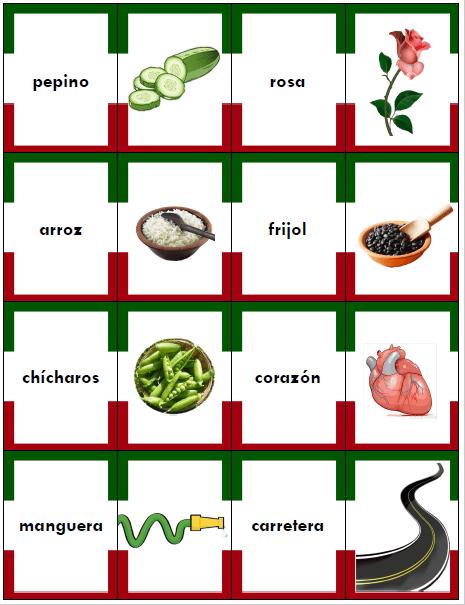 memorama español