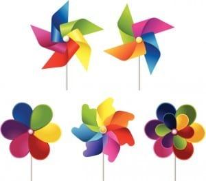 Windmill toy set