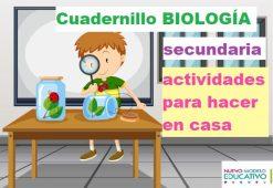 Cuadernillo Biología, actividades para hacer en casa