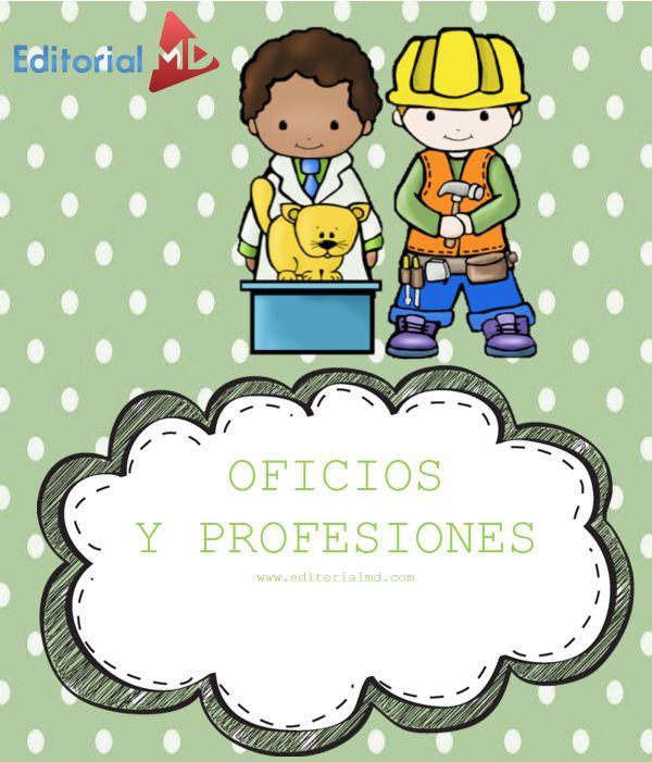Oficios Y Profesiones Para Niños Material Para Imprimir
