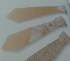 paso 2 para hacer corbata