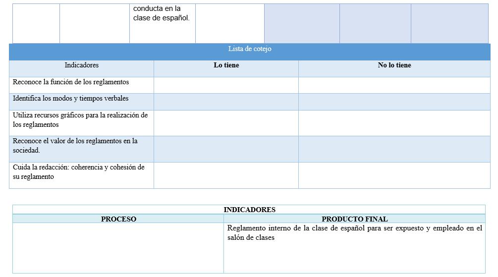 planeacion español primer grado trimestral